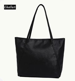 Wholesale Pocket Toothpick - New Winter Quality PU Leather Candy-colored Fashion Girls Women Bag Toothpick Land Mobile Shopping Big Bag