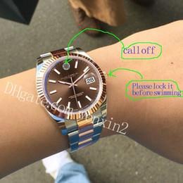 2019 uhren luxus-stil 20 Style Brand Luxury Watch Datejust 41 mm Automatische Mechanische Armbanduhr DARK Edelstahl DIAL JUBILEE ARMBAND Sport Herrenuhren günstig uhren luxus-stil