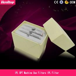 Épilation haut en Ligne-Filtres d'IPL de la meilleure qualité 480nm-640nm pour l'épilation de machine de traitement de peau d'Elight RF handpiec