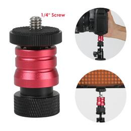 Mini-tête à bille avec dégagement rapide pour plaque de moniteur pour lampe LED Moniteur DSLR ? partir de fabricateur