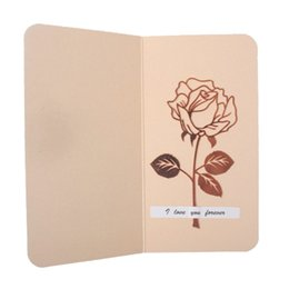 цветочные вкладки Скидка 1 Set  Metal Rose Flower Bookmarks & Greeting Cards Chancery School Office Accessories Tab for Books Stationery Items Gi