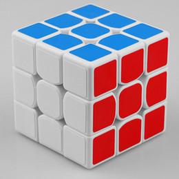 нео кубы Скидка 3x3x3 5,7 см скорость для Magic Cube головоломки непоседа Cube Neo Cubo Magico наклейки для детей образования взрослых игрушки
