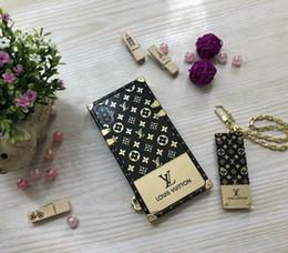 Argentina Diseñador de lujo Funda para teléfono para IphoneX Iphone9 Iphone7 / 8Plus Iphone7 / 8 Iphone6 / 6sP 6 / 6s Funda de teléfono de marca completa para iPhone nuevo cheap iphone 6s luxury brand cover Suministro