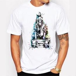 Wholesale Death Notes - Man Brand Big Discount Sale Death Note T Shirt For Mens Shirts Fashion Short Sleeve Print Shirt Geek Casual White Mens T Shirt
