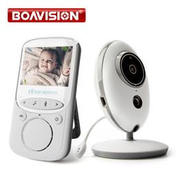 Wholesale Babysitter Camera - Wireless LCD Audio Video Baby Monitor VB605 Radio Nanny Music Intercom IR 24h Portable Baby Camera Baby Walkie Talkie Babysitter