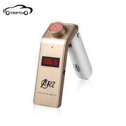 Wholesale Card Lighters - Bluetooth hands-free car mp3 player cigarette lighter car FM U disc music card machine