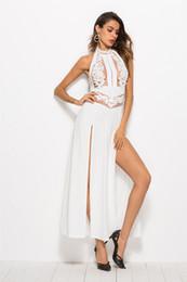 Commerce extérieur européen et américain transfrontalière exclusive pour la robe de soie de dos dos nu sans manches en soie 2018 nouveaux produits en gros ? partir de fabricateur