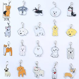 Canada 5pcs / lot 2018 nouvelle mode chien porte-clés couple d'animaux belle porte-clés voiture cadeau porte-clés pour fille femmes et hommes bijoux sac charme Offre