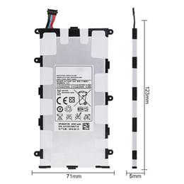 li 3.7v comprimido Desconto SP4960C3B 3.7 V 4000 mAh Bateria Recarregável Li-ion Substituição Tablet para Samsung GALAXY Tab 2 RRP_10V