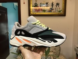 Wholesale cheap shipping box - Cheap price top Quality Mens Women Sizes 36-46 Kanye West 700 Shoes Kanye West 350 Boost Sports Sneakers With Box DHL Free Shipping