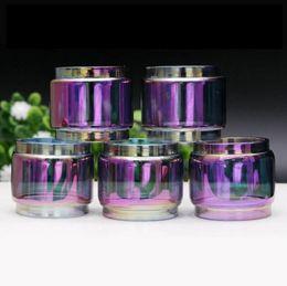 Wholesale Rainbow Tank Top - Top Quality TFV12 Prince TFV12 Baby Prince Replacement Rainbow Bulb Glass Tube for TFV12 Baby Prince Tank