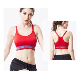 335560220156e Women No Rims Sports Bra Tee Top Shockproof Adjusted Bras Sleep Tops Tank Yoga  Bras Push Up Gym Running Padded Bras 2018 Love Pink Underwear