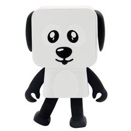 Date Mini Bluetooth Haut-Parleur Smart Danse Robot Chien Haut-parleurs multi-fonction Portable Bluetooth Haut-Parleur Haut-Parleur Cadeau Créatif ? partir de fabricateur