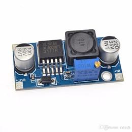 2019 tarjeta de pcb color Venta al por mayor 400KHz Frecuencia de conmutación XL6009 DC-DC Ajustable Step-up Boost Módulo convertidor de potencia Convertidores de CC a CC Electrónicos