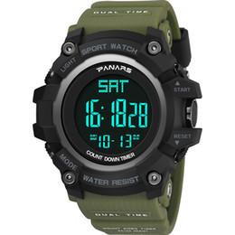 Почтовая вода онлайн-новое прибытие привело цифровые спортивные мужские женские наручные часы моды с ресистентом воды с функцией будильника