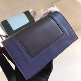 2019 malas emolduradas Mulheres famosas reais Celi Couro Genuíno Bolsa de Alta Qualidade Clássico Sacos de Compras Patchwork sacos de armação malas emolduradas barato