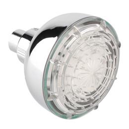 Wholesale Shower Head Changes Colors - Light LED Shower Head Sprinkler Rain Multicolor 7 Colors Change bathroom accessories