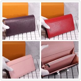 Wholesale Clutch Phone Cases - Women Bag Brand designer sale handbag purse clutch wallet original box luxury famous brand designer holder for mobile phone cards cash