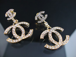 Wholesale horn bone jewelry - Fashion show Classic style Women Clear Crystal Acrylic bracelet earrings Jewelry With Box