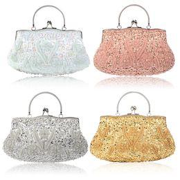 Canada 12colors mariage embrayages sacs à main de mariée sacs de mariage sacs fourre-tout embrayages sac à main perlé Offre