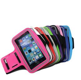 Huawei 4,7 on-line-Cintos Banda Universal Armband Bag Para Xiaomi 4.7-5.0 polegada Lycra Esporte Arm Banda Em Execução Case Para Huawei Bolsa