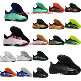 1feb2ce06ebc 2018 top quality new arrival mens soccer cleats X Tango 17.3 TF soccer shoes  indoor soft ground football boots cheap tango x zapatos futbol