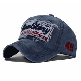 SNP100% Gorra de béisbol de mezclilla lavada Snapback Sombreros Sombrero de  verano de otoño para hombres Mujeres Gorras Casquette sombreros bordado de  la ... 88ad0c85c3d