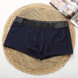 Canada Haute Qualité Célèbre Marque De Mode Hommes Sexy Boxers Confortable Coton Modal Designer Homme Sous-Vêtements Culottes Taille M ~ XXL Offre