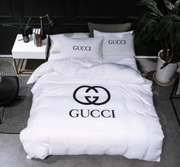 Wholesale Queen White Bedding Set - Washing cotton 4 Pieces White Crystal velvet Luxury Bedding Set King Size Queen Bed Set Lace Duvet Cover Bed Sheet Pillowcase
