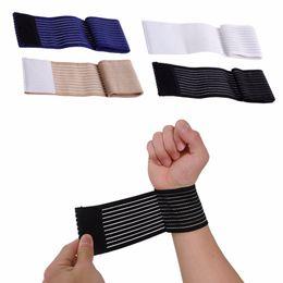 pulseiras de algodão preto Desconto 1 PC Palm Wrap Mão Brace Suporte Elastic Wrist Sleeve Banda Ginásio Esportes Traning Guard