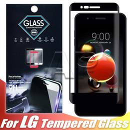 huawei mate glass Rebajas Cristal templado de cubierta completa para Iphone XR XS MAX X Samsung J6 J7 J5 Prime Huawei Mate P20 Lite Protector de pantalla de borde duro