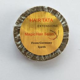 1 cm * 3 metros de cabelo TATA EXTENSÕES Magia Hair Salon fita para extensão de cabelo fita / peruca / peruca de
