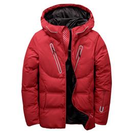 dd315697b189 luxury men winter jacket white duck down parka casual goose feather men s  winter coat hood thick warm waterproof jackets