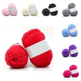 Fil à coudre Régiment 10 Couleurs Coton Doux Bambou Crochet Fil À Tricoter Bébé Tricot Laine Fil Chandail Lignes ? partir de fabricateur