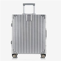 Wholesale Trunk Suitcase Luggage - On the Mowa with a suitcase trunk aluminum frame 20 inch 20 24 inch boarding box and check box Beautiful fashion