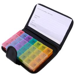 28 сетки Радуга цвет ногтей горный хрусталь контейнер таблетки ящик для хранения портативный таблетки конфеты медицина организатор таблетки чехол с мешком от
