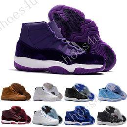 Stivali mens atletici online-2017 (11)XI Legend Blue Basketball Shoes Good Quality Men Sports Shoes Wholesale Women&mens Trainers Athletics Boots 11 XI Sneakers