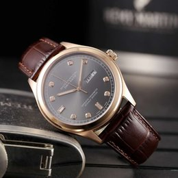 6b62dff0ccd Luxury mens watches diamond 8205 automatic mechanical movement R0910  sapphire designer leather band man wristwatch famous brand chronograph