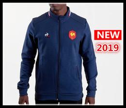 147877735ae59 camiseta de rugby Rebajas Ventas calientes mejor Calidad 2019 Francia Rugby  Jerseys Jacket 18 19 jersey