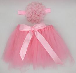 figurinos Desconto Recém-nascidos Fotografia Props Infantil Traje Outfit Princesa Bebê Tutu Saia Headband Do Bebê Fotografia Prop 1000 conjunto