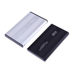 ssd mobile Rebajas Estuche externo HDD SSD de 13MM de grosor para unidad de disco duro HD de 2.5 pulgadas USB 3.0 a unidad SATA Mobile Disk Drive