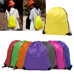 Wholesale freeze clothing - kids clothes shoes bag High quality School Drawstring Frozen Sport Gym PE Dance Backpacks free shipping