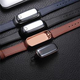 Bluetooth-гарнитура для телефонов с часами онлайн-Натуральная кожа Smart Sport Watch M6 со съемной Bluetooth-гарнитурой-пульсометром Монитор сна Браслет-телефон для Android / IOS