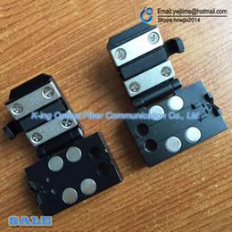Wholesale Fiber Fusion Splicer - DVP730 DVP720 DVP730H DVP-730 Fusion Splicer patch cord clamp   fiber plate 3in1 Fiber holder 1pair