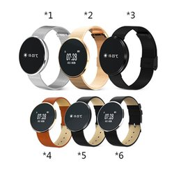 Wholesale Business Rates - CF006 smart bracelet Android IOS Business man women Round blood pressure&sleep monitoring Sport smart Bracelet pk mi2 band