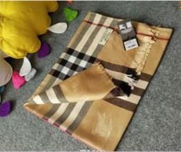 O cachecol de algodão de alta qualidade é um cachecol de moda inverno longo projetado para designers de luxo feminino 180 * 70 cm de