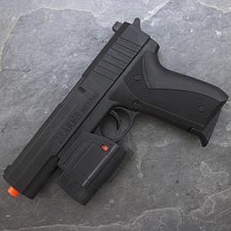 Wholesale gun pistol laser - SPRING AIRSOFT PISTOL HAND GUN LIGHT LASER SIGHT AIR w  6mm BBs BB