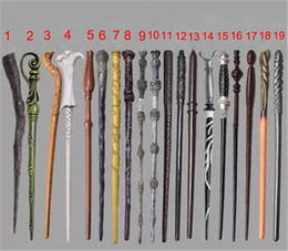 Wholesale Harry Potter Dumbledore Wand - 19 Types Craft Arts Harry Potter Wands Harry Potter Dumbledore Hermione Voldermort Ron Luna Snape Sirius Magic Wand Fashion home Arts Crafts