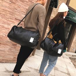 b91bf4004dc0 Pu cuero Gym Male Bag Top mujer deporte bolsa de zapatos para mujeres  Fitness sobre el hombro Yoga bolsa de viaje bolsos negro rojo XA567WD  Ofertas de ...