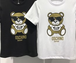 Wholesale Cartoon Shorts For Men - 2018 Summer New Short Sleeve T Shirts For Style Cartoon Animals Clothing Fit T-shirt Fashion Casual Men Tshirts (H06)